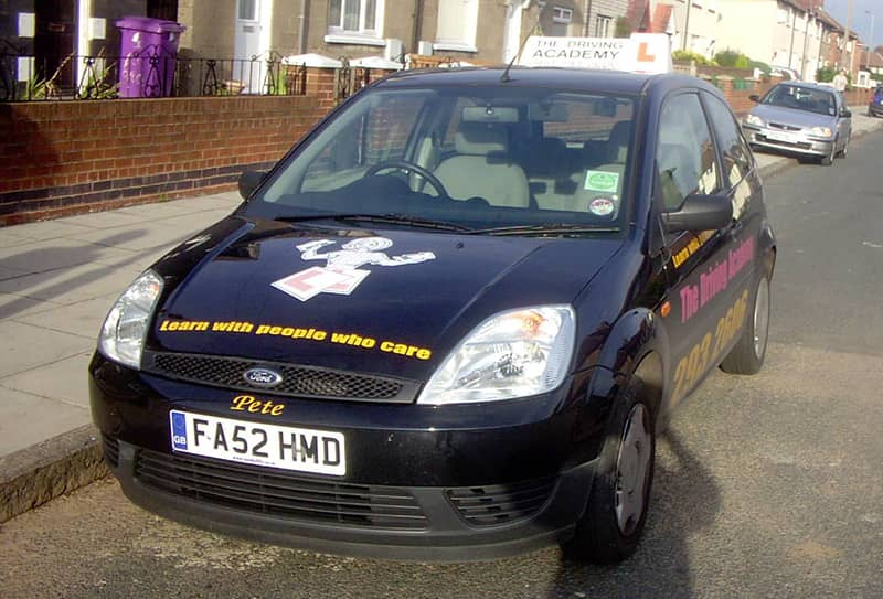 One of our first cars - 2003 Ford Fiesta