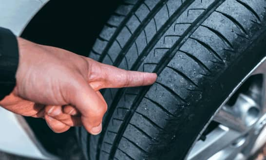 Check your tyres - Life Hack