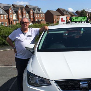 Bernie, Driving instructor South Liverpool