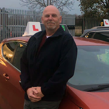 Bob, Driving instructor in Huyton