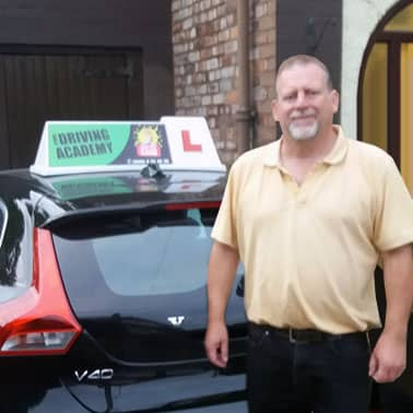 Geoff, Driving instructor in West Derby