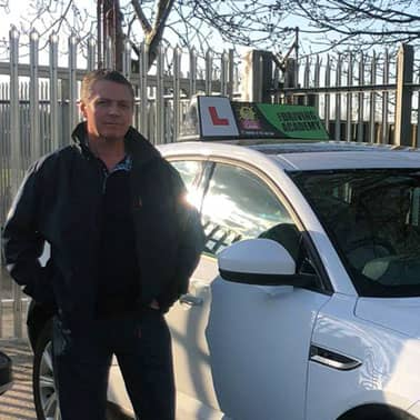 James, driving instructor in St Helens