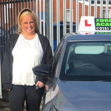 Karen, Female driving instructor in Huyton