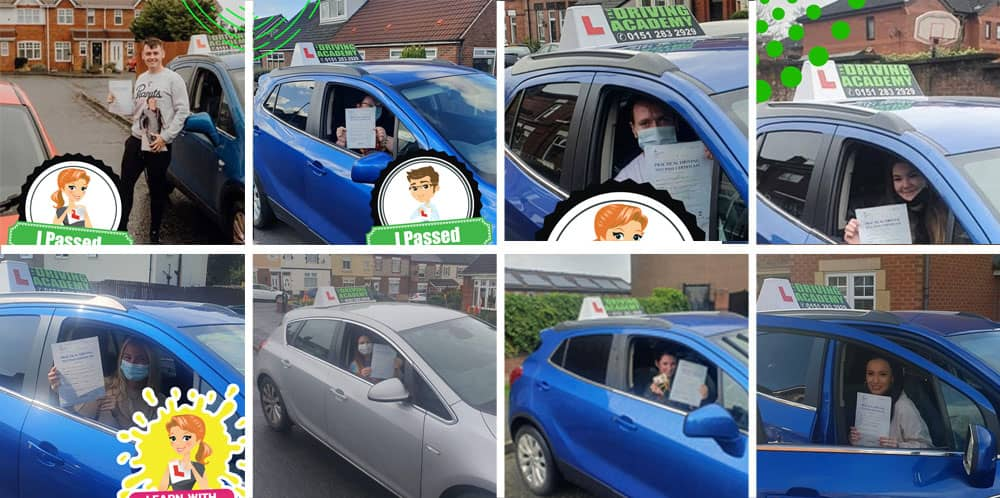 Ste's Driving test passes