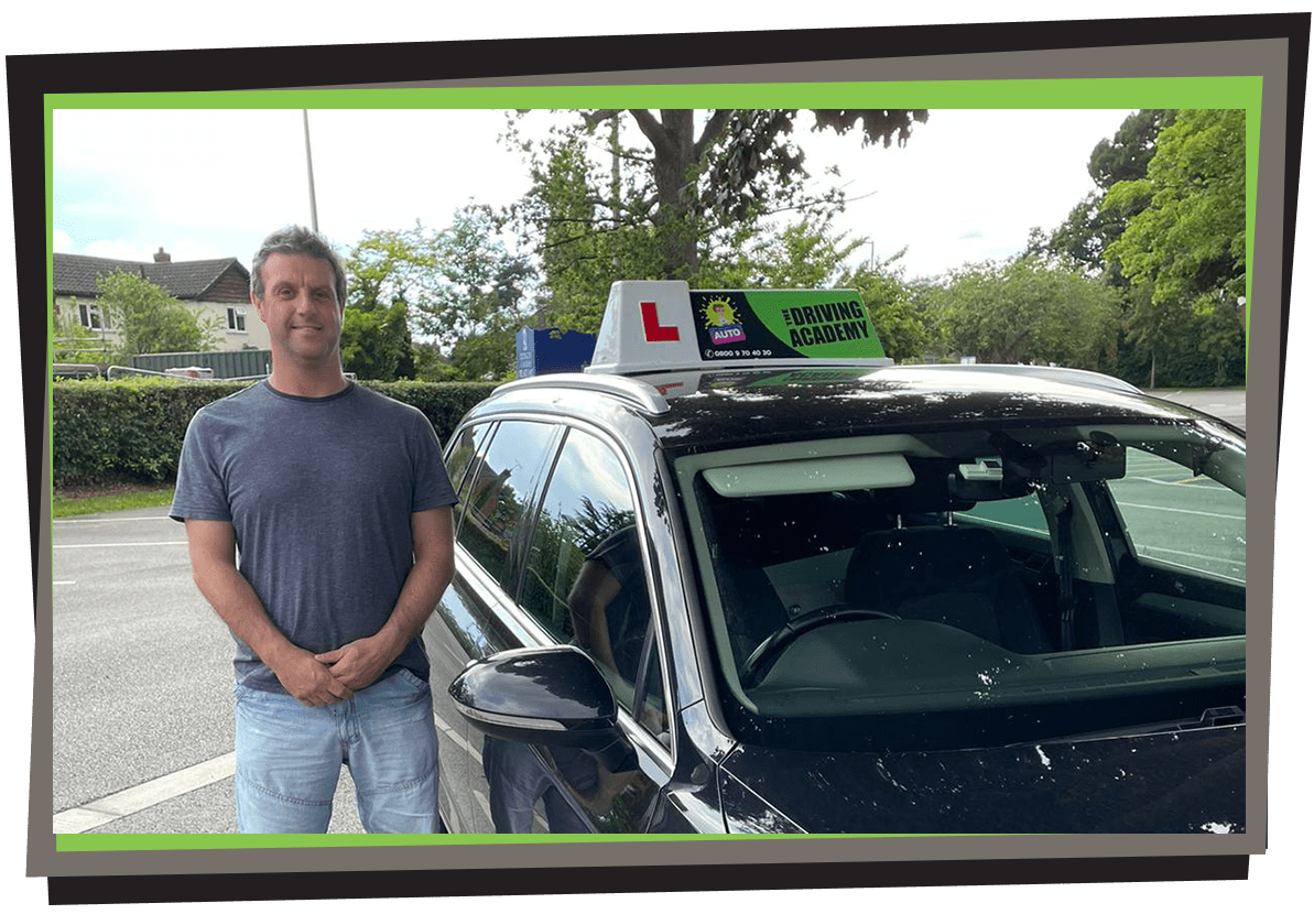 Meet Chris - Our automatic driving instructor in Liverpool