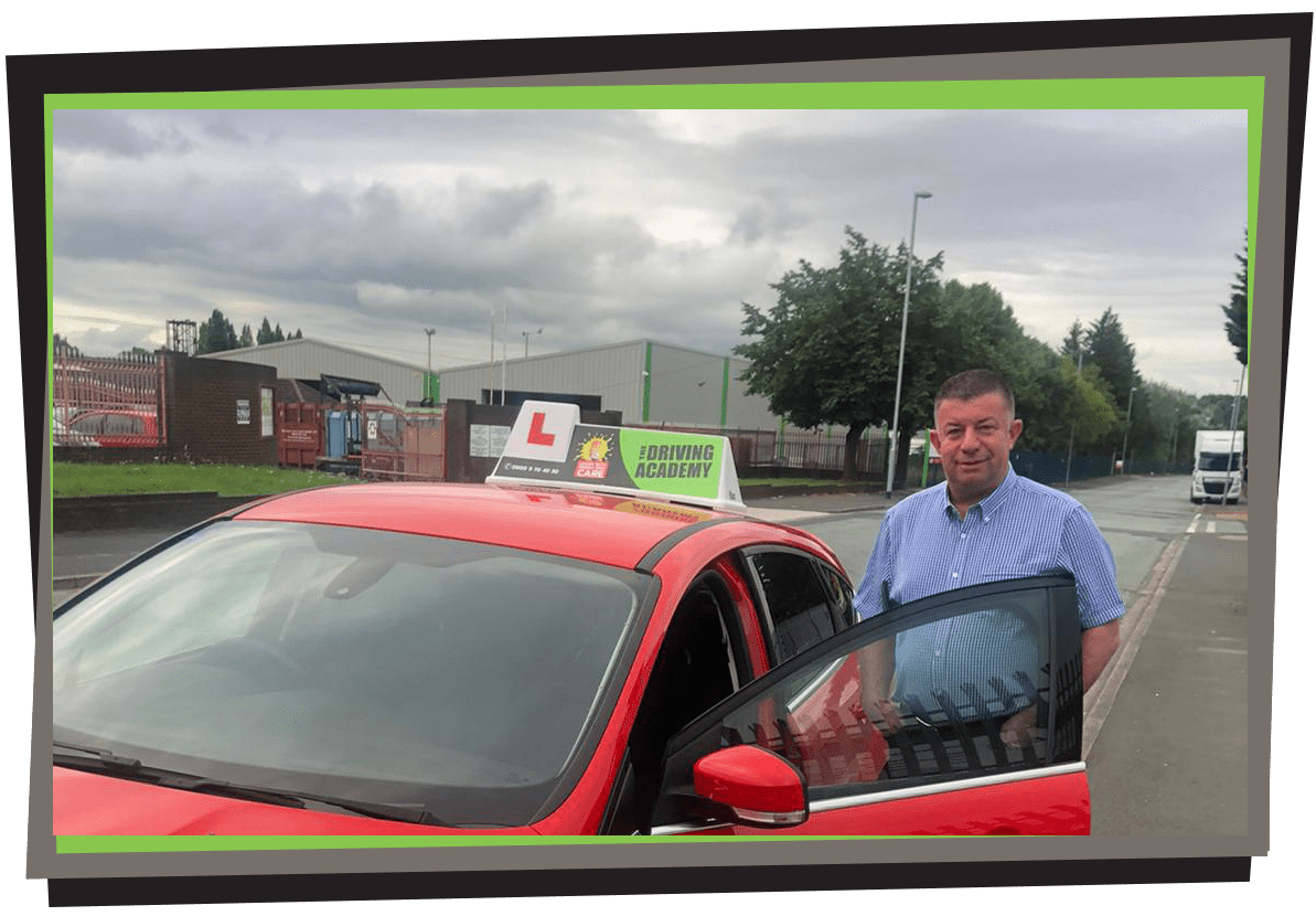 Meet Craig - one of our manual driving instructors in Runcorn!!