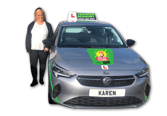 Meet Karen - Our female driving instructor in Huyton, Liverpool