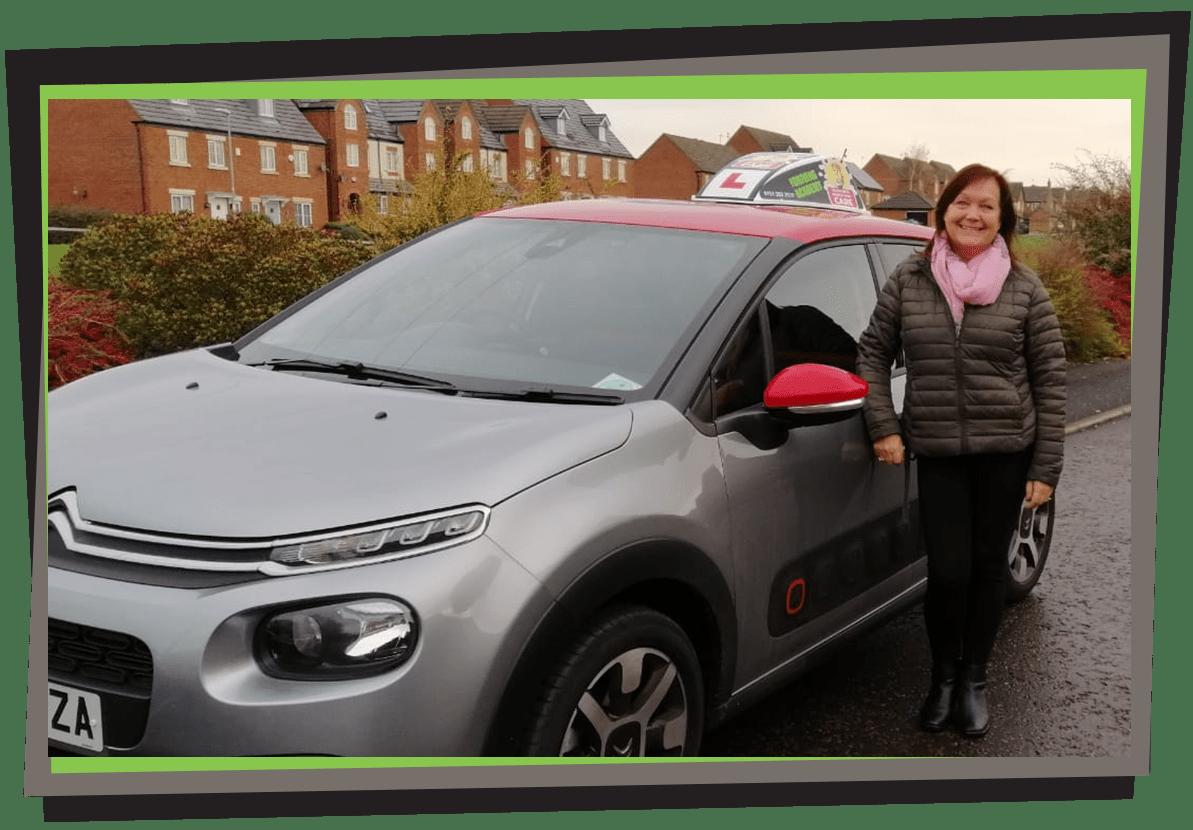 Meet Marie, Female driving instructor in Crosby - Team TDA