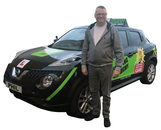 Meet Phil, Our driving instructor in Aintree - Team TDA
