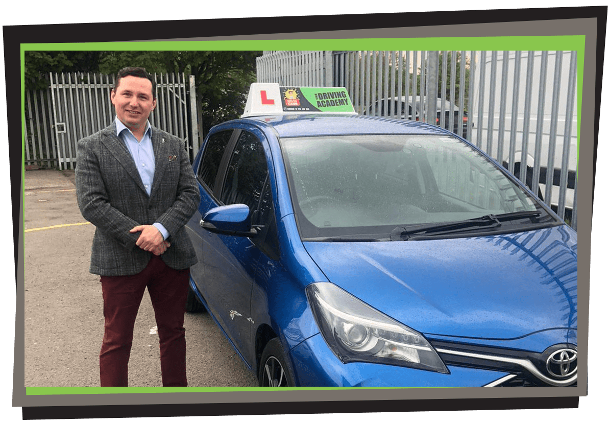 Meet Piotr - Polish speaking driving instructor in Liverpool