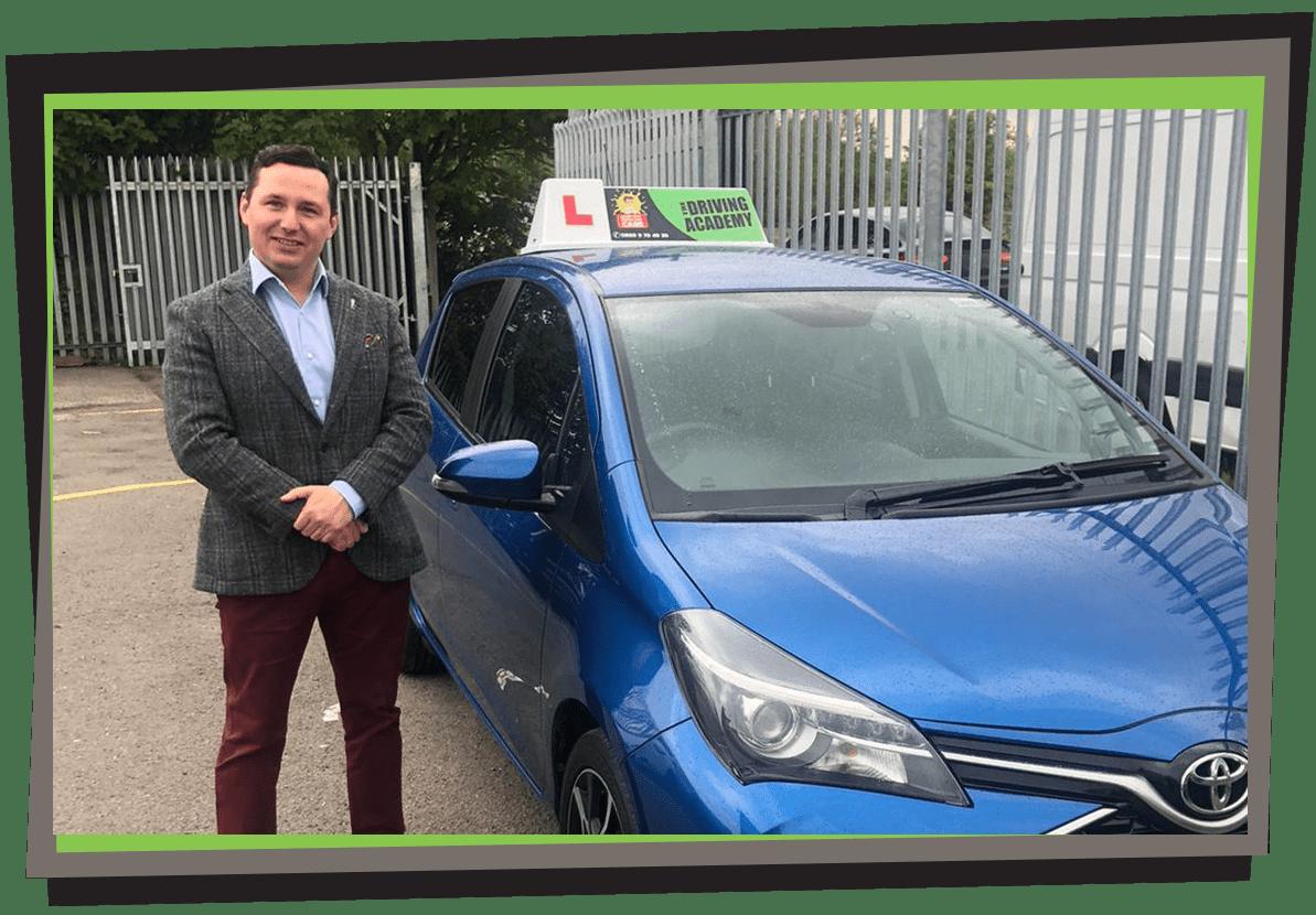 Meet Piotr - Polish speaking driving instructor in Souhtport