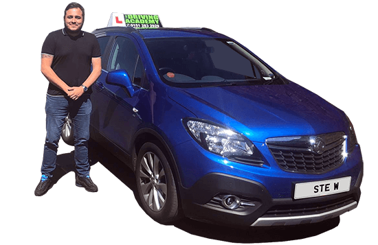 Meet Ste - Our driving instructor in St Helens - Team TDA