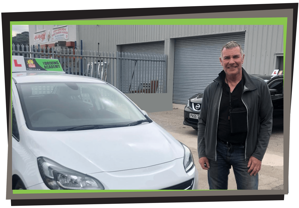 Meet Tony - Driving Instructor in St Helens! - Team TDA