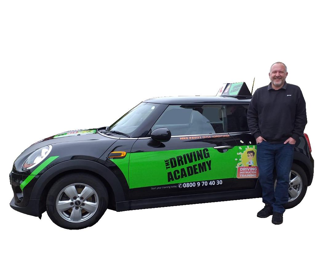 Meet Mike - ORDIT driving instructor & trainer - Team TDA