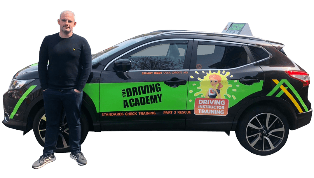 Meet Stu - ORDIT driving instructor - The Driving Academy