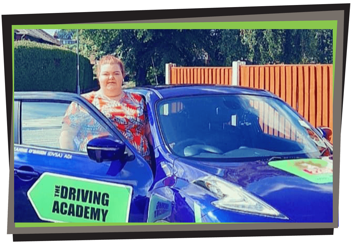 Meet Suzanne - Our Female driving instructor in Wavertree
