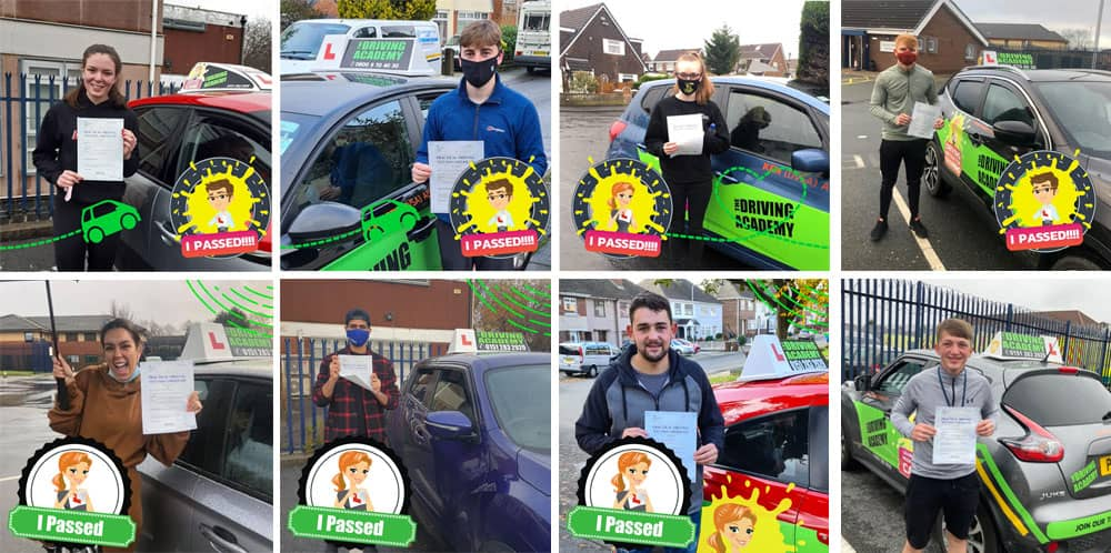 Huyton driving test passes