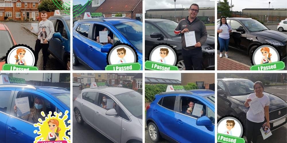 Warrington driving test passes