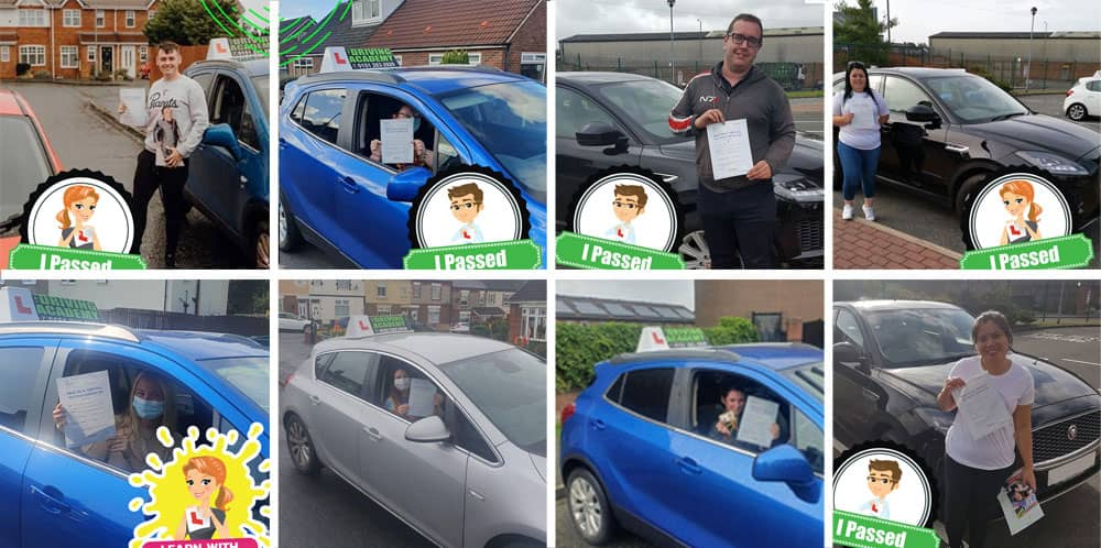Driving test passes in Widnes