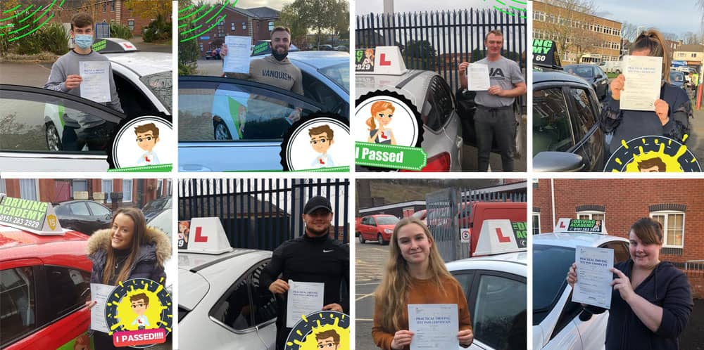Wirral driving test passes